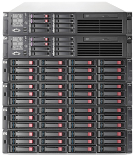 HP StoreAll 9320 Storage Node Pair