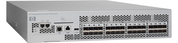 HP Encryption SAN Switch